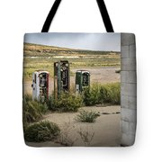 Gas Station Relics Tote Bag