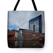 Gas Street Basin Birmingham Tote Bag