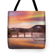Gasconade River Sunrise Tote Bag