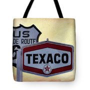 Gasoline Signs Tote Bag