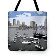 Gasparilla Invasion Work Number 3 Tote Bag