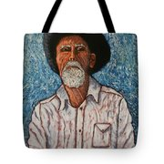 The Last Ride.out Of Chute #1 Tote Bag