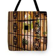 Gate - Alcazar Of Seville - Seville Spain Tote Bag