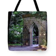 Gate At Cong Abbey Cong Ireland Tote Bag