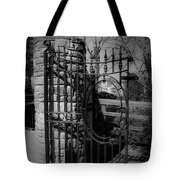 Gate In Macroom Ireland Tote Bag