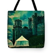 Gate Tower At Warwick Castle Tote Bag