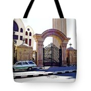 Gates Of Archangel Michael Cathedral Tote Bag