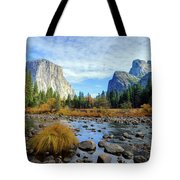 Gates Of The Valley Tote Bag