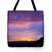 Gates Pass Sunset Tote Bag