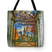Gates To Knowledge Princeton University Tote Bag