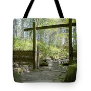 Gateway And Stone Path Tote Bag
