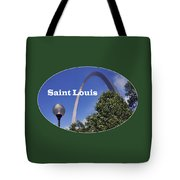 Gateway Arch - Saint Louis - Transparent Tote Bag