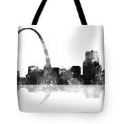 Gateway Arch St Louis Missouri Skyline Tote Bag