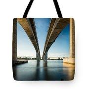 Gateway Bridge Brisbane Colour Tote Bag