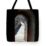 Gateway To Great Wall Tote Bag
