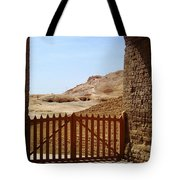 Gateway To Monthemhat Tomb Tote Bag