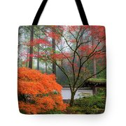 Gateway To Portland Japanese Garden Tote Bag