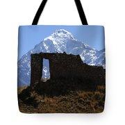 Mt Veronica And Inti Punku Sun Gate Tote Bag