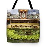 Gateway To The Magic Panorama Tote Bag