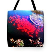 Gather Gold Fish Tote Bag