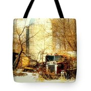 Gathered  Under The Silo Tote Bag