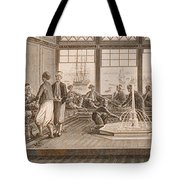 Gathering At Ottoman Mansion Tote Bag