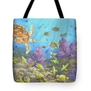 Gathering In The Reef Tote Bag