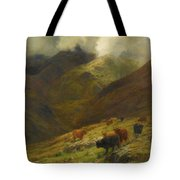 Gathering Mists Tote Bag