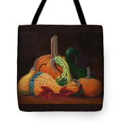 Gathering Of The Gourds Tote Bag