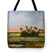 Gathering Of The Palms Tote Bag