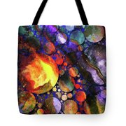 Gathering Of The Planets Tote Bag