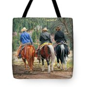 Gathering Pine Ridge Tote Bag
