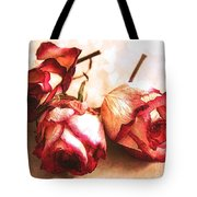 Gathering Rosebuds Tote Bag