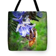 Gathering Rosemary Pollen Tote Bag