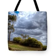 Gathering Storm Clouds Tote Bag