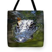 Gator And Dragonfly Tote Bag