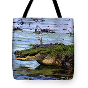 Gator Growl Tote Bag