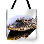 Gator Profile Reflection Tote Bag