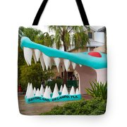 Gatorland In Kissimmee Is Just South Of Orlando In Florida Tote Bag