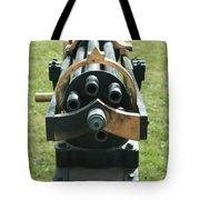 Gattling Gun Tote Bag