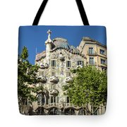 Casa Batillo - Gaudi Designed  - Barcelona Spain Tote Bag
