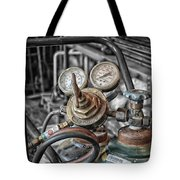 Gauges And Tanks For Cutting Torches Tote Bag