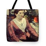 Gaugin: Marie Derrien, 1890 Tote Bag