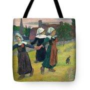 Gauguin: Breton Girls, 1888 Tote Bag