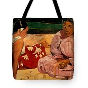 Gauguin: Tahiti Women, 1891 Tote Bag