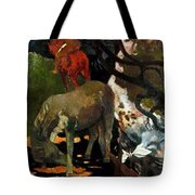 Gauguin: White Horse, 1898 Tote Bag