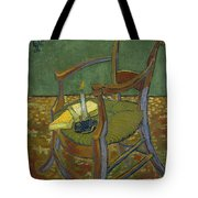 Gauguin's Chair Tote Bag