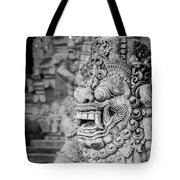 Gaurdian Of The Gardens Tote Bag