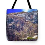Gavarnie Circus Waterfall Tote Bag
