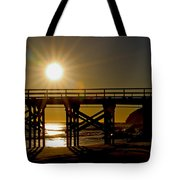 Gaviota Sunset Tote Bag